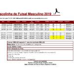 Escolinha Futsal - maio 2019