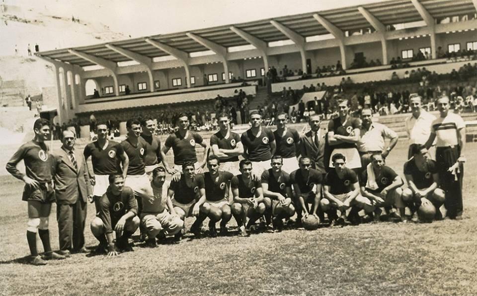 Juventus x Las Palmas 1953
