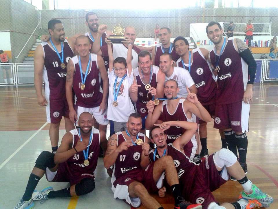 basquete final dos jogos da cidade