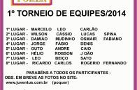 TORNEIO DE EQUIPES - FINAL OK DEO