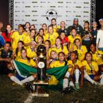 Seleção Brasileira consagra-se campeã do Torneio Internacional Feminino Sub 17 realizado na Javari