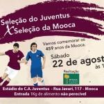 Seleções do Juventus e Mooca se enfrentam em amistosos comemorativos