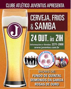 Cerveja, Frios e Samba 2015 @ Salão Nobre | São Paulo | São Paulo | Brasil
