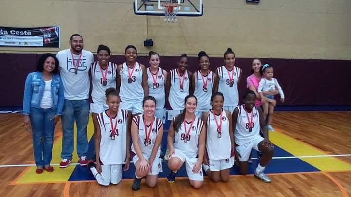 basquete categoria sub 13 Paulista
