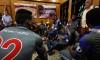 São Paulo,SP,Brasil 06 de Janeiro  2016 -VISITA PEROLAS NEGRAS HAI JUVENTUS - Jogadores do Perolas Negras visitaram na tarde de hoje o Clube Atlético Juventus.(Foto: Ale Vianna/Eleven).