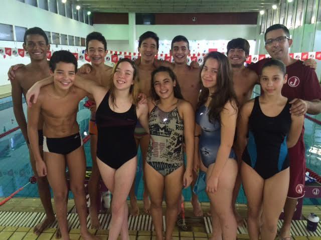natação paulista infantil