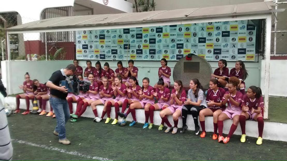 O Departamento de Futebol Feminino promove avaliação para atletas de futebol  feminino nascidas nos anos de 1999 a 2005 (de 11 a 17 anos) a5e354393d0f5