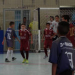 Sub 12 e Sub 14 se classificam para as Quartas de Final do Estadual de Futsal