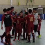 Moleque vence 01 partida, empata 02 e perde 01 no Metropolitano de Futsal