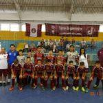 Sub 12 conquista o 4° lugar do Estadual de Futsal