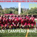 Futebol Associados sagra-se campeão invicto da Copa Paulistana Interclubes