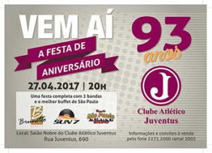 93º Aniversário do Clube Atlético Juventus @ Salão Nobre | São Paulo | Brasil