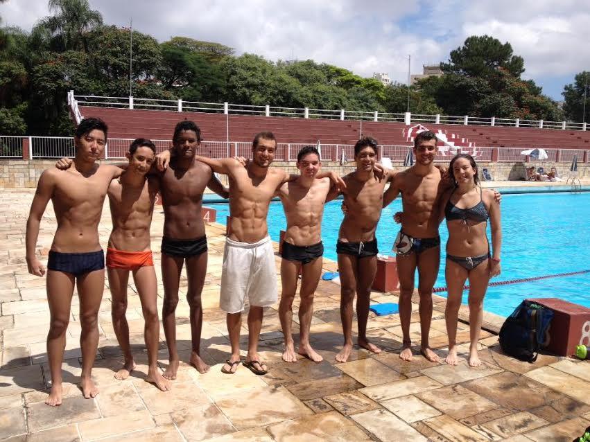 equipe natação
