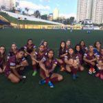 Equipe Feminina vence Centro Olímpico por W.O