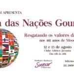 Festa das Nações Gourmet – 2ª Edição