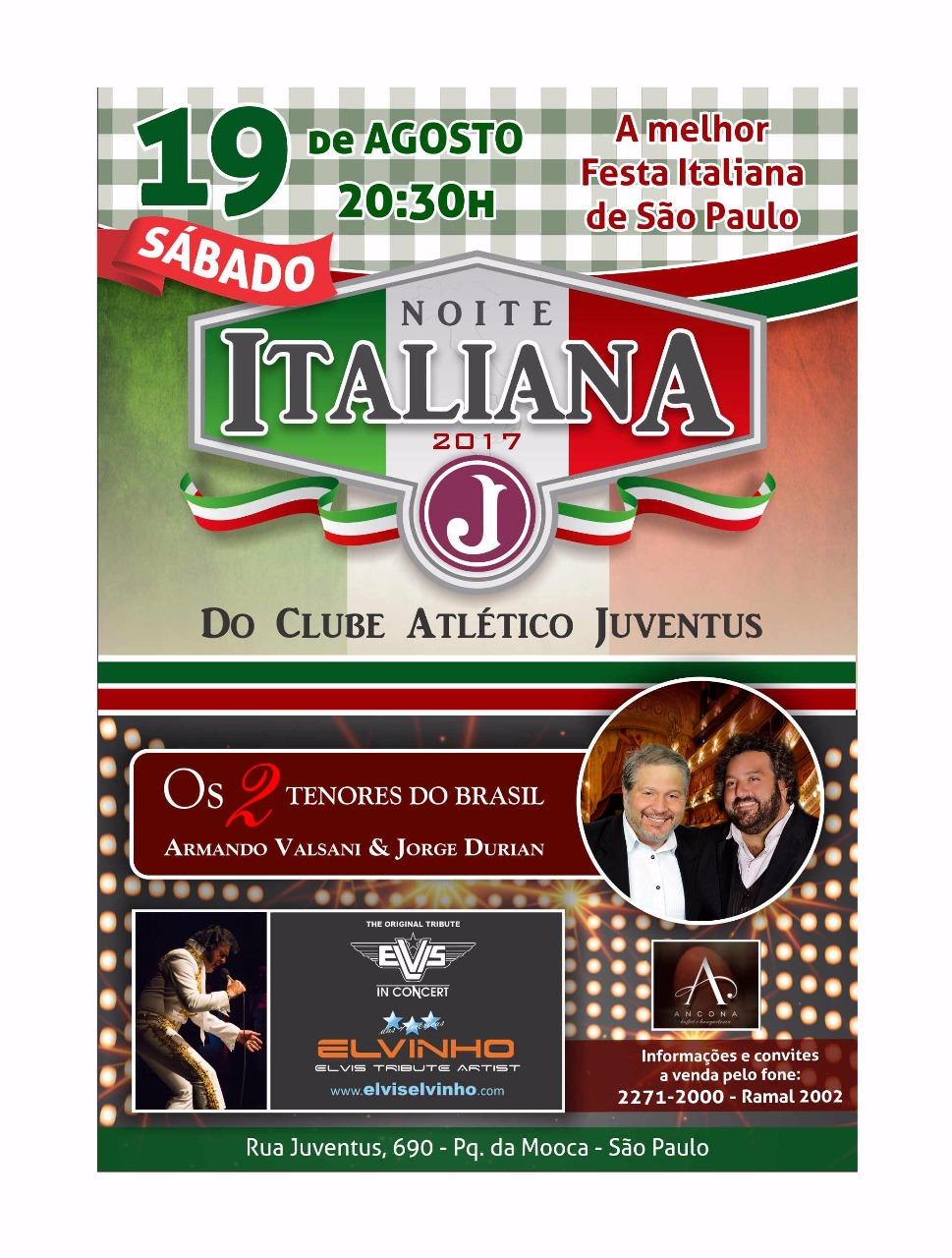 noite italiana 2017