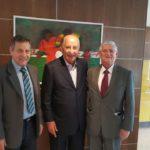 Presidente Domingos Sanches visita à sede da CBF