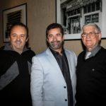 Presidente e Vice do Juventus celebram Dia da Pizza no tradicional restaurante Sacada