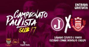 2ª Fase do Paulista Sub 17 - Juventus x José Bonifácio