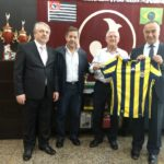 Presidente Domingos Sanches recebe visita do Secretário da Cultura da Turquia