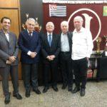 Domingos Sanches se reúne com o presidente do I.B. Giovanni Falcone