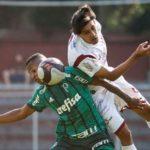 Sub 20 perde em casa para o Palmeiras