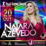 Naiara Azevedo se apresenta no Juventus