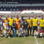 Alunos da Associação Cultural Brasil Colômbia visitam o Estádio da Rua Javari