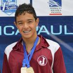 Daniel Yuki conquista 02 Ouros e 01 Bronze no Troféu Chico Piscina