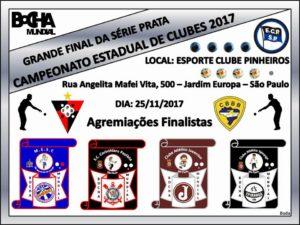 Quadrangular Final do Campeonato Estadual de Bocha @ E.C. Pinheiros   São Paulo   Brasil