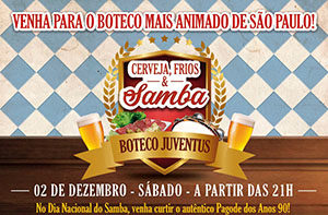 Cerveja, Frios e Samba 2017 @ Salão Nobre   São Paulo   Brasil
