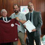 Presidente Domingos Sanches visita Secretaria de Esporte, Lazer e Juventude