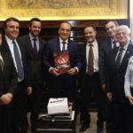 Presidente Domingos Sanches visita o Tribunal de Justiça do Estado de São Paulo