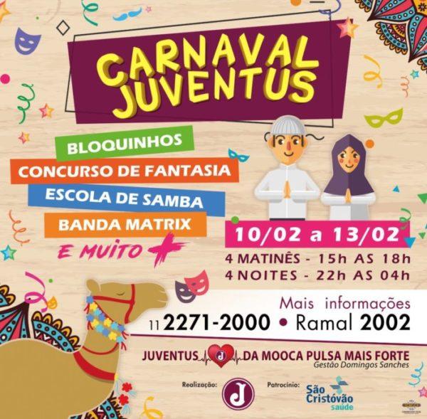 Carnaval Juventus (Arte: Divulgação)
