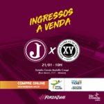 Torcedor já pode adquirir ingresso para Juventus e XV de Piracicaba