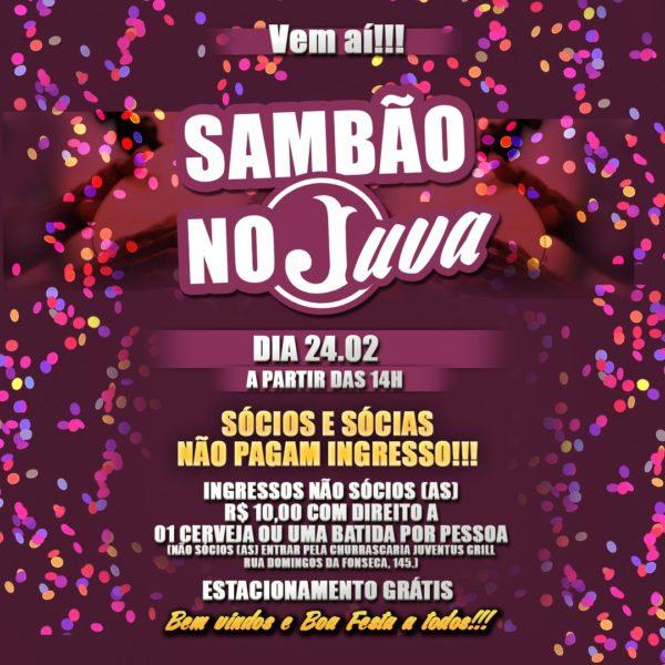 Sambão no Juva (Foto: Divulgação)