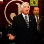 Presidente Domingos Sanches e o vice Saulo Franciscon (Foto: Divulgação)
