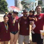 Equipe Máster de natação volta a competir