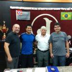 Ewerton Moraes Sarmento, Mauro Uwagoya, Domingos Sanches e Luis Henrique