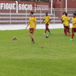 Elenco sub-20 em treino (Foto: Marcelo Germano/Juventus)