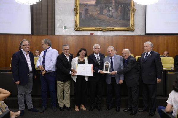 Castán, Silvana, Domingos Sanches, vereador Toninho Paiva e Caetano