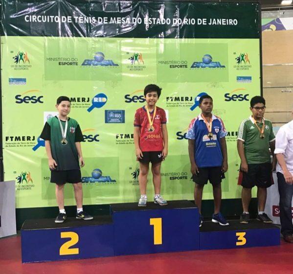 Sasaki conquista ouro na Etapa do Rio de Janeiro