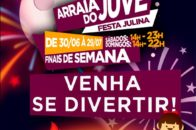 Festa Julina 2018 - Venha se divertir - arte