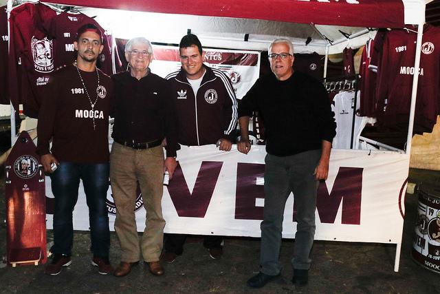 Presidente do Juventus Domingos Sanches compareceu na Festa Julina