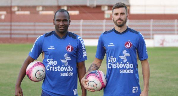 Adilson e Diego Paulista são apresentados no Juventus (Foto: Marcelo Germano/Juventus)