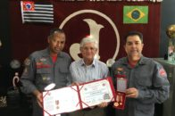 Presidente Domingos Sanches recebe medalha do Centenário