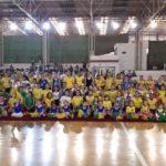 Juventus recebe 400 crianças para competição de ginástica rítmica