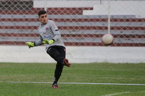 Matheus Pellegrini, goleiro do Juventus Sub-20 (Foto: Marcelo Germano/Juventus)