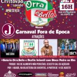 Arte -Bloco Orra Bello - 2018
