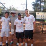 Interclubes tênis - Arquivo pessoal